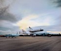 Columbia Return, Shuttle Landing Facility, Kennedy Space Center, 1985